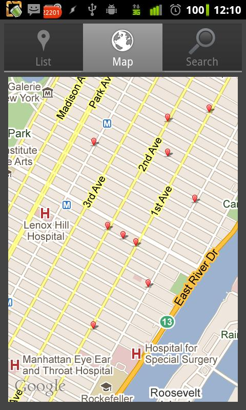NYC Health Ratings for Android